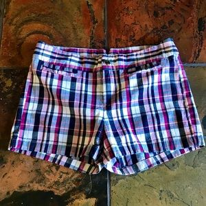 Banana Republic Plaid Shorts 8